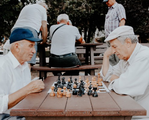 Cognitive Function With Age