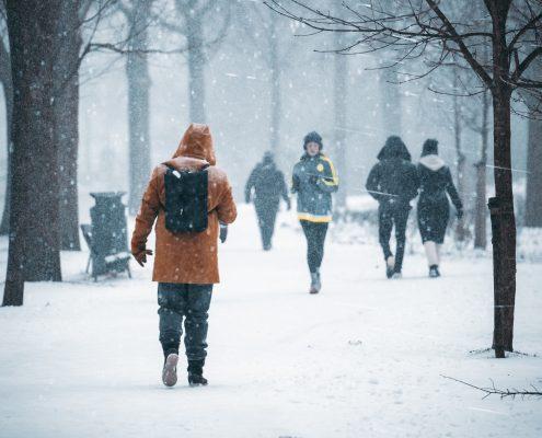 Seniors Active During Winter